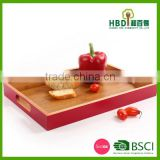 lacquered bamboo wooden serving tray for sale