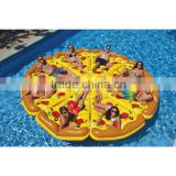 pool floats inflatable Pizza Pie slice Pool Float plate Set mattress