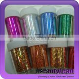 nail transfer foil with 67 different colors nail shell strip nail art