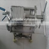 Water/ Carbon/ Bacteria Removal, Used in Brewery/ Beverage Factory, Stainless Steel Cooking/ Sesame/ Coconut Oil Press Filter