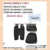 Toyota body parts #000486-2/000486-3 toyota hiace 3 doors handle cups or 4 door handle cups silicon for hiace