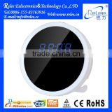 High quality smart home security hd 1080p wireless mini wifi battery powered H.264 Clock Camera