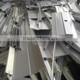 High quality 99.7% aluminum scrap 6063 factory price