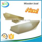 2016 new product wooden sushi boat