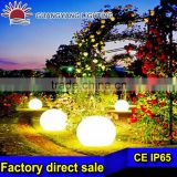 Dia 50cm plastic pe DC12V 6W waterproof led glow swimming pool ball