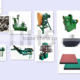 outdoor rubber tiles making line/Rubber floor vulcanizing plant/Rubber tiles making machine