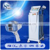 2015 Newest Design Ipl Hair Removal Beauty Skin Rejuvenation Equipment/e-light Ipl Rf+nd Yag Laser Multifunction Machine 690-1200nm