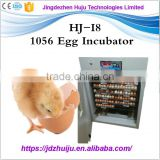 Factory supply 1000 eggs automatic hatching machine/chicken egg incubator prices India HJ-I8