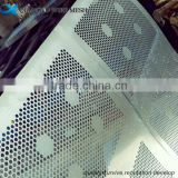 oval round1mm hole galvanized perforated metal mesh in stock