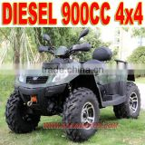 900cc Diesel 4x4 ATV Four Wheel Motorcycle