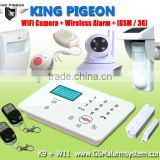 k9 Pro New SMS home alarm system for home automnation English voice prompt available