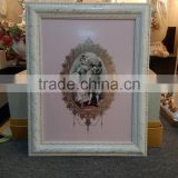 BISINI Royal Photo Frame, Home Decorative Items Ceramic Frame, Luxury and Baroque Series Picture Frame (BF01-S1387-03C)