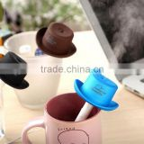 New design desktop Cowboy cap portable USB mini car air humidifier