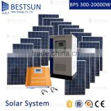 BESTSUN 20000W Portable Home Solar Energy System for homely use, Small Solar Generator with solar panel