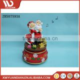 China Home Decor Resin Craft Dancing Music Bell Handmade Christmas Decoration Supplies Ornaments