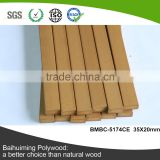 Hot Sale Colorful PS Slat for Furniture for Wood Plastic Composite Slats Bench (BMBC-5174CE)
