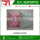High Quality Custom OEM Digital Printing Cushion Cover India