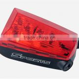 Laser Beams Bicycle Laser Tail Light Rechargeable 5 LED