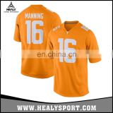 Orange design Tennessee College Football&basketball Game Jersey