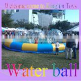2m Clear PVC/TPU inflatable water ball