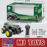 Top slae Army style 2 CH cheap rc truck with good quality