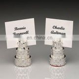 Silver Plated Wedding Cake Place Card Holder
