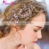 Black Friday Hot Selling Phoenix Style Rhinestone Bridal Hair Clip Party Headpiece Hair Claws Wedding Engagement Hair Accessory