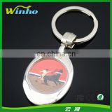 Blank 25mm Diameter Metal Keyring