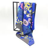 Fashion Style Classic Popular Custom Women Silk Scarf