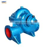 Centrifugal double suction agricultural irrigation water pump