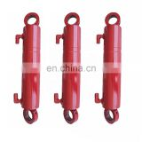 Hot Selling Double Acting Welded Hydraulic Cylinder Clevis  High quality welded piston tractor loader hydraulic cylinder
