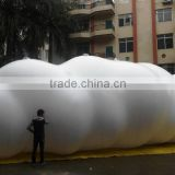 13M Long advertising inflatable giant big cloud balloon helium PVC white cloud model for sale