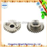 Changzhou Machinery Machine Gears used packing set Crown Pinion Gears Ring for concrete mixer & crown wheel pinion Gear Ring