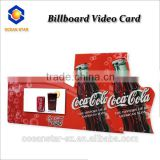 OS-GVC LCD Video advertisement display with Colorful design hot sale indoor advertising billboard