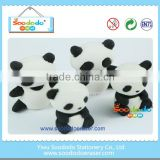 kawaii stationery rubber panda eraser manufacturers