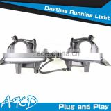 AKD Car Styling Toyota Highlander DRL 2014-2015 New Highlander Led DRL LED Daytime Running Light Good Quality LED Fog lamp