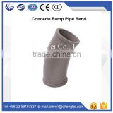 High quality concrete pump parts 30 degree concrete pump pipe elbow