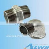 malleable iron nipple/elbow/tee/plug/unions/bushing/cap/reducer/socket