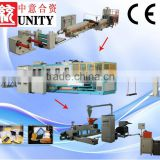 double screw t die head extrusionair lamination machine