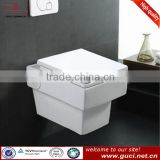 Concealed cistern ceramic wall hung toilet