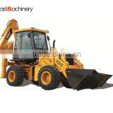 4wd backhoe, high quality Chinese backhoe, new 2.5 ton articulated backhoe loader for Malaysia