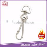 High quality wholesale metal swivel snap lobster claw clasp hook