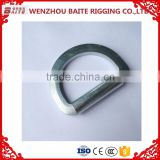 Steel Electro Galvanized handle bag Ring Rigging Hardware fitty D Ring furniture handle in Professional Manufacturer