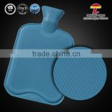 sky blue bs natural rubber decorative water bottles
