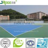 factory price spu sports flooring rubber flooring plastic floor covering with ITF certificate                                                                         Quality Choice