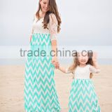 USA Family mommy and me beautiful cotton maxi dress so sweet