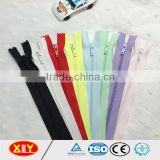 fancy OEM ykk color custom length autolock slider nylon zipper