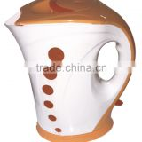 new design plastic electric water pot,1.7L electric tea kettle,home electric water jug with LED light