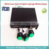 RDB Metal shell full hd digital signage set top box DS009-133