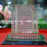 Delicate Business Crystal Gift Crystal Building Model